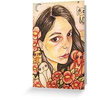 Self- Portrait 2013 Greeting Card