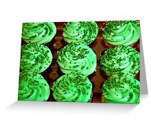 I Ate My Greens Today Greeting Card