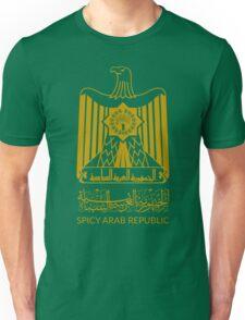 Spicy Arab Republic - Coat of Arms Unisex T-Shirt
