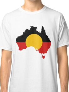 Aboriginal Flag - Australian Native Cool Classic T-Shirt