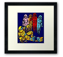 Horror Arcade - Pacman Framed Print