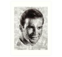 William Shatner Star Trek's Captain Kirk Art Print