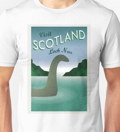 Visit Loch Ness Unisex T-Shirt