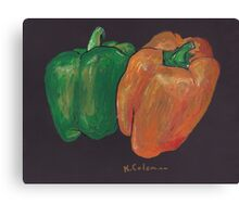 Peppers! Canvas Print