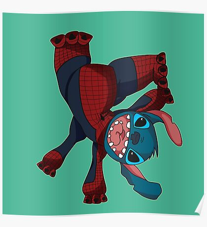 Spider Stitch Poster