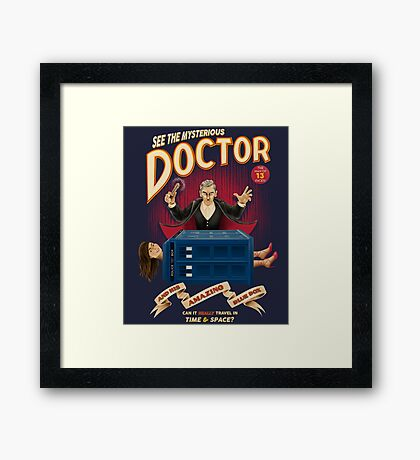 The Mysterious Doctor Framed Print