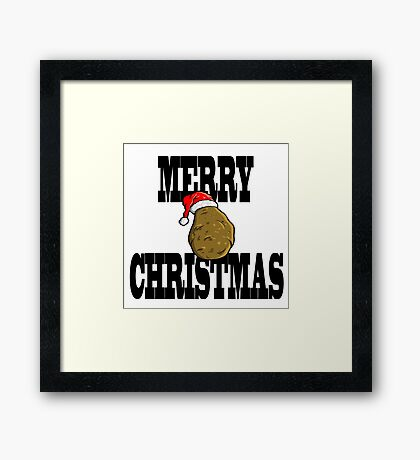 merry potato  Framed Print