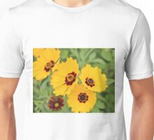 Yellow And Maroon Centers Unisex T-Shirt