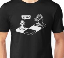Playing Chess Funny Unisex T-Shirt