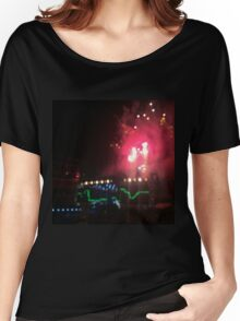 WWA Fireworks Women's Relaxed Fit T-Shirt