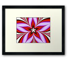 Spirit Flower Framed Print