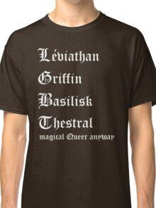 LGBT Magical Queer Classic T-Shirt
