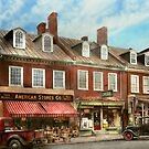 City - Easton MD - A slice of American life 1936 by Mike  Savad