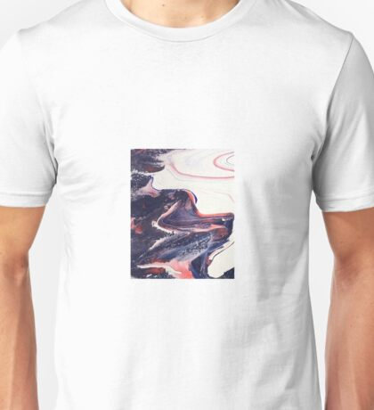 Pastel swirl 2 Unisex T-Shirt