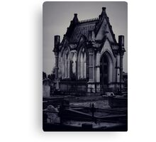 Gothic Crypt. Canvas Print