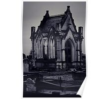 Gothic Crypt. Poster