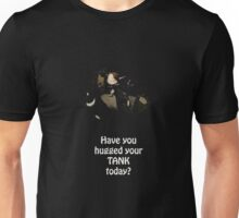 Druid Tank - Have you hugged your tank today - wow  Unisex T-Shirt