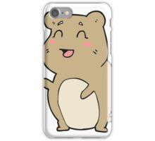 cartoon cute hamster iPhone Case/Skin