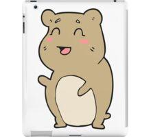 cartoon cute hamster iPad Case/Skin