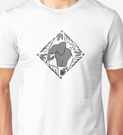 Grey Elephants Unisex T-Shirt
