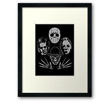 Horror Rhapsody Framed Print