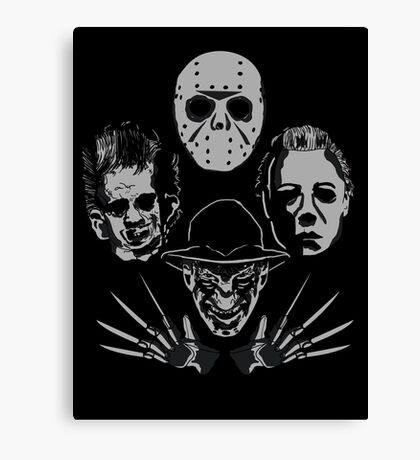 Horror Rhapsody Canvas Print