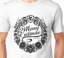Merry Critmas - Black Version Unisex T-Shirt