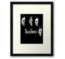 The Slashers Framed Print