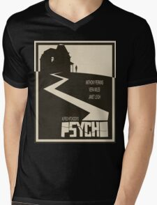 Psycho Movie Poster - Beige Version Mens V-Neck T-Shirt
