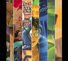 Harry Potter: All 7 Books - Iphone Case by sullat04