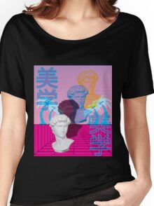 Perspective Vaporwave Women's Relaxed Fit T-Shirt
