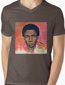 Because the Internet Graphic Mens V-Neck T-Shirt