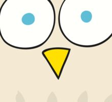 cartoon happy owl Sticker
