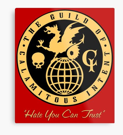 The Guild of Calamitous Intent Metal Print
