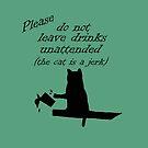 The Cat is a Jerk by Susan S. Kline