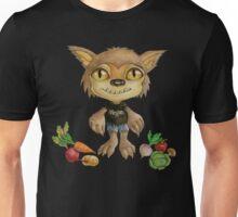 vegan werewolf and veggies Unisex T-Shirt
