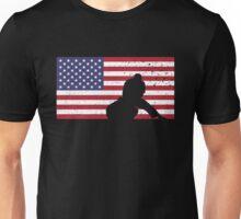 American Flag Brazilian Jiu-Jitsu Unisex T-Shirt