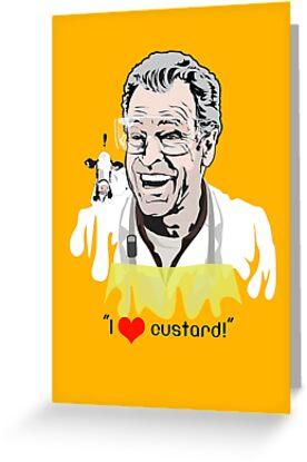 I Love Custard - Walter Bishop - Fringe by godgeeki