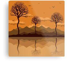 Lakes2 Metal Print
