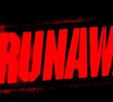 The Runaways Logo Sticker Sticker