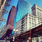 Chicago City Scape by Tracy Jule