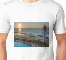 The lighthouse at Umhlanga Rocks Unisex T-Shirt