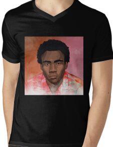 Childish Gambino Because the Internet T-Shirt Mens V-Neck T-Shirt