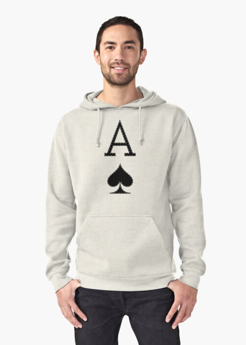 Letter A - Ace by SmartTees
