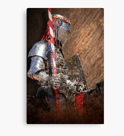 To the Joust Canvas Print
