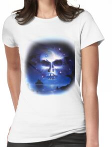 Mirrored Fate Womens Fitted T-Shirt