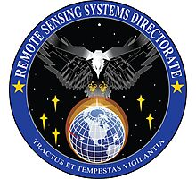 Remote Sensing Systems Directorate (RSSD) Logo Photographic Print