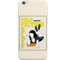 Pulp Fiction Vintage Movie Poster iPhone Case/Skin