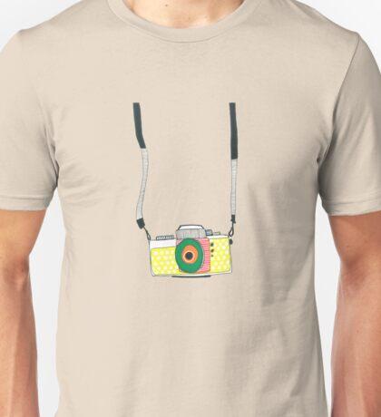 The Hanging Camera Unisex T-Shirt