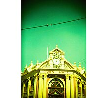 Town Hall Birds Photographic Print